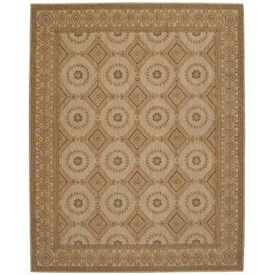 Bryn Oriental Beige Area Rug Rug Size: Rectangle 36 x 56