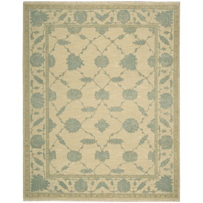 Silk Pointe Hand-Woven Blue Area Rug
