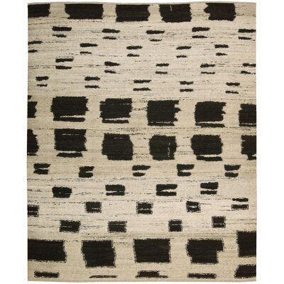 Taos Hand-Woven Beige Area Rug