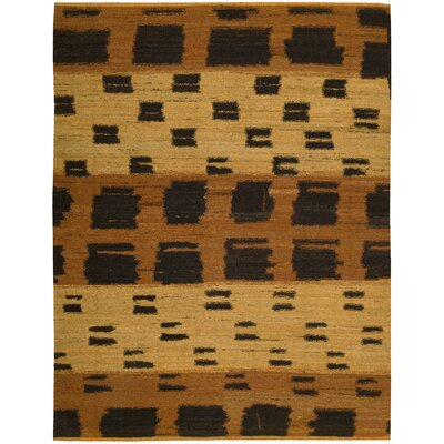 Taos Hand-Woven Orange Area Rug