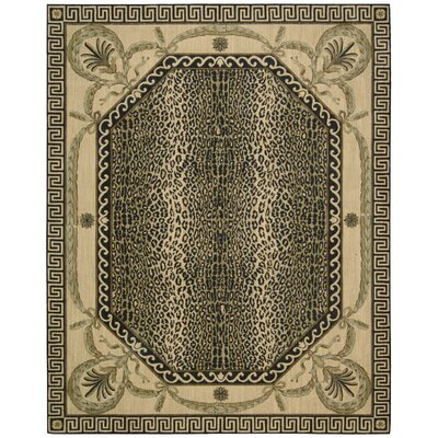Vallencierre Multi Animal Print Area Rug Rug Size: 53 x 83