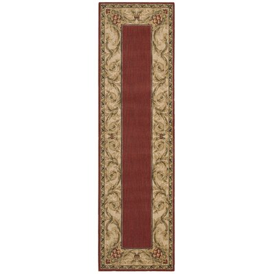 Vallencierre Brick Area Rug Rug Size: Runner 23 x 8