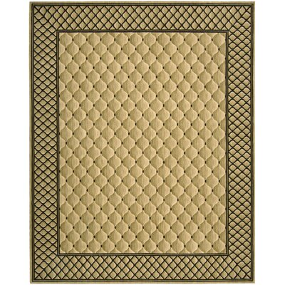 Bryn Beige/Black Area Rug Rug Size: Rectangle 83 x 113