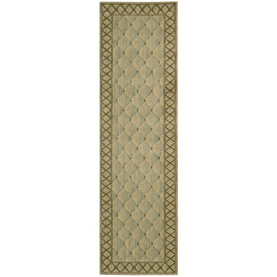 Bryn Beige/Brown Area Rug Rug Size: Runner 23 x 8