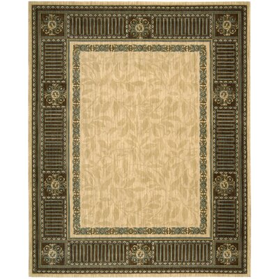 Bryn Beige Area Rug Rug Size: Rectangle 36 x 56