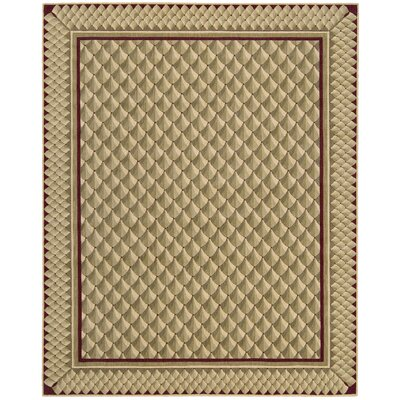 Bryn Camel Area Rug Rug Size: Rectangle 36 x 56