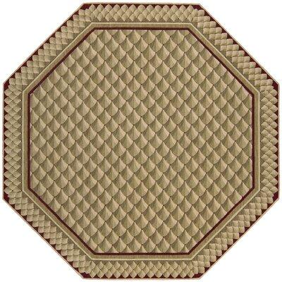 Bryn Camel Area Rug Rug Size: Octagon 8