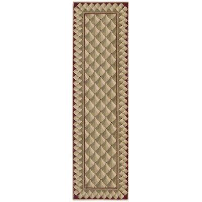 Bryn Camel Area Rug Rug Size: Runner 23 x 8