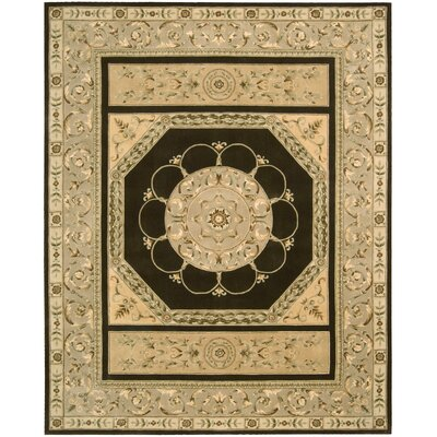 Versaille Palace Brown Rug Rug Size: 53 x 83