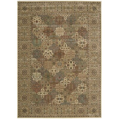 Cambridge Beige Area Rug Rug Size: 2 x 29