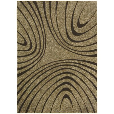 Artemis Sand / Taupe Area Rug Rug Size: Rectangle 79 x 1010
