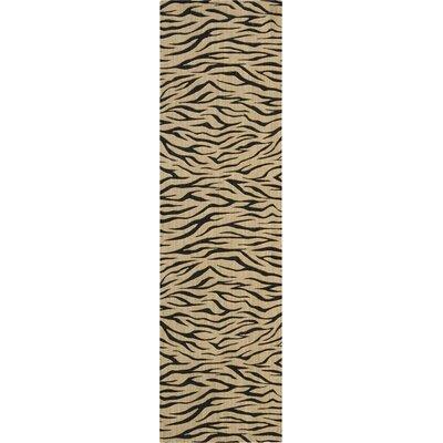 Cosmopolitan Hand-Woven Beige Area Rug Rug Size: Runner 23 x 8
