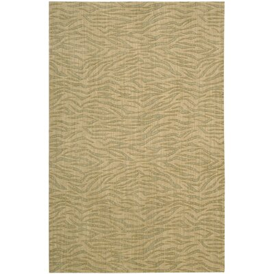 Dunnstown Hand-Woven Beige Area Rug Rug Size: Rectangle 53 x 83