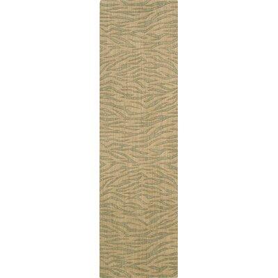 Dunnstown Hand-Woven Beige Area Rug Rug Size: Runner 23 x 8