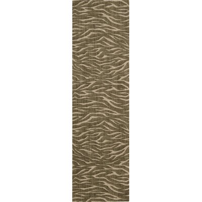Dunnstown Hand-Woven Cocoa Area Rug Rug Size: Runner 23 x 8