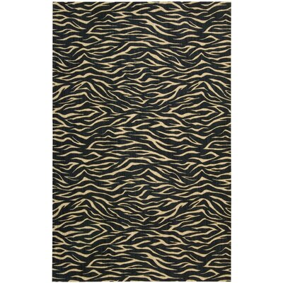 Dunnstown Hand-Woven Midnight Area Rug Rug Size: Rectangle 83 x 113