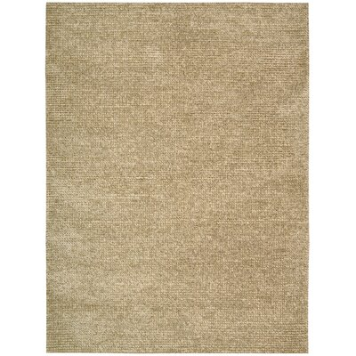 Fantasia Hand-Tufted Beige Area Rug Rug Size: 56 x 75