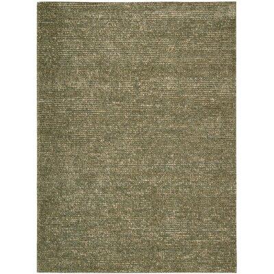 Fantasia Hand-Tufted Slate Area Rug Rug Size: 36 x 56