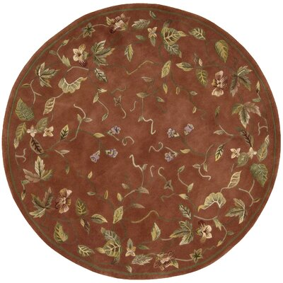 Brittney Persian Area Rug Rug Size: Round 6