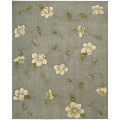 Julian Hand-Tufted Gray Area Rug Rug Size: 76 x 96