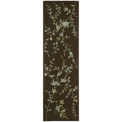 Sherron Brown Rug Rug Size: Runner 23 x 8
