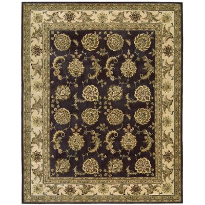 Nourison 2000 Hand Woven Wool Lavender Indoor Area Rug Rug Size: 79 x 99