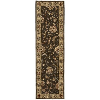 Nourison 2000 Hand-Tufted Brown Area Rug Rug Size: Runner 23 x 8