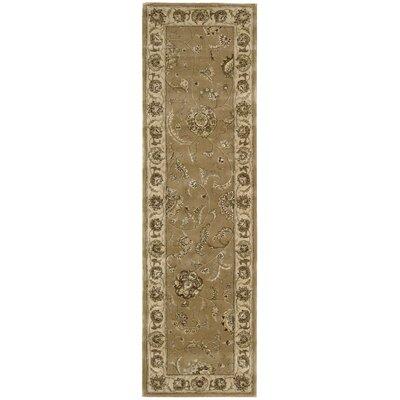Nourison 2000 Hand-Tufted Camel Area Rug Rug Size: Runner 23 x 8