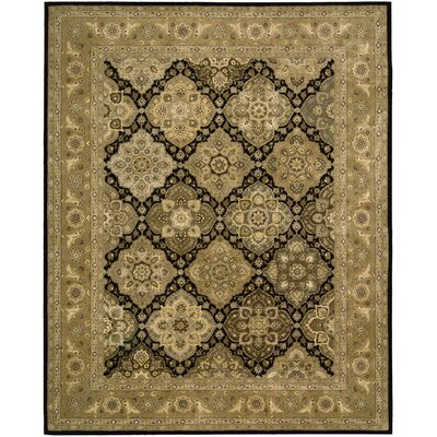 Nourison 2000 Hand Woven Wool Tan Indoor Area Rug Rug Size: 2 x 3