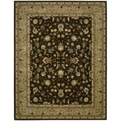 Chandrine Hand Woven Wool Brown Indoor Area Rug Rug Size: Rectangle 86 x 116