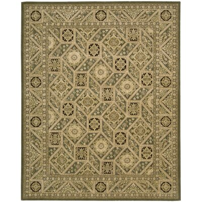 Nourison 2000 Hand Woven Wool Tan Indoor Area Rug Rug Size: 79 x 99