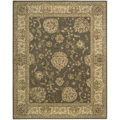 Nourison 2000 Hand Woven Wool Grey Indoor Area Rug Rug Size: 2 x 3