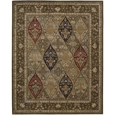 Nourison 2000 Hand Woven Wool Red/Brown Indoor Area Rug Rug Size: 2 x 3