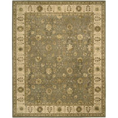 Nourison 3000 Hand-Tufted Taupe Area Rug Rug Size: 86 x 116