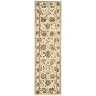 Nourison 3000 Hand-Tufted Ivory Area Rug Rug Size: Runner 23 x 8