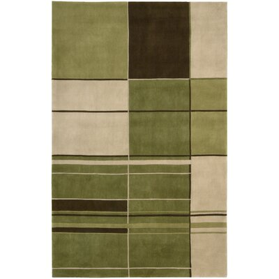 Yasmina Green Area Rug Rug Size: Rectangle 76 x 96