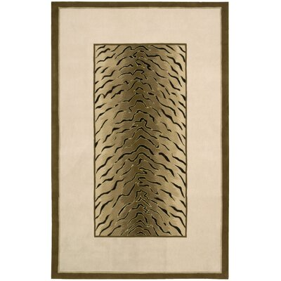 Dimensions Brown/Tan Area Rug Rug Size: 36 x 56