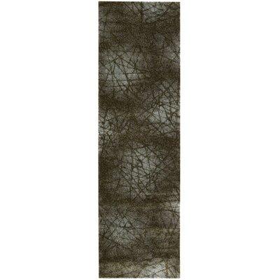 Sueann Aqua Area Rug Rug Size: Runner 2 x 59