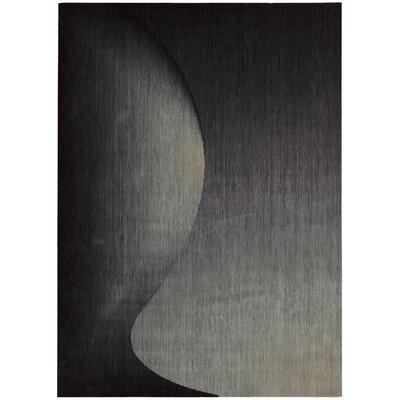 Radiant Arts Onyx Area Rug Rug Size: 36 x 56