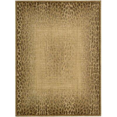 Radiant Impressions Beige Rug Rug Size: 79 x 1010