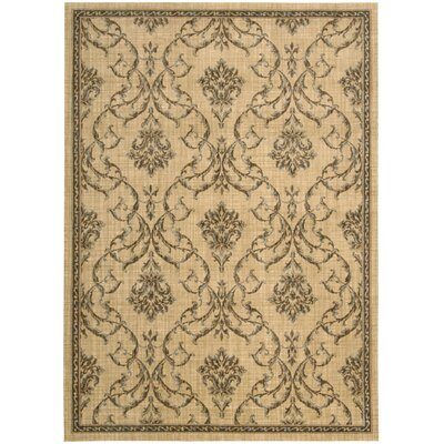 Paige Hand-Woven Beige Area Rug Rug Size: Rectangle 36 x 56