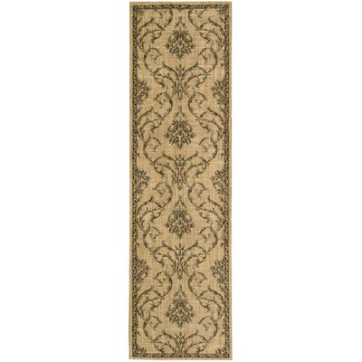 Paige Hand-Woven Beige Area Rug Rug Size: Runner 23 x 8
