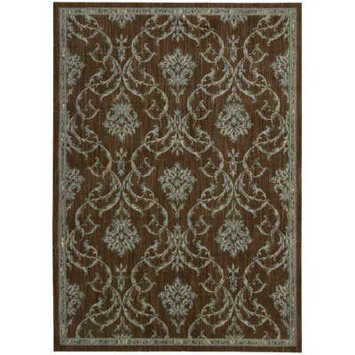 Paige Hand-Woven Brown Area Rug Rug Size: Rectangle 56 x 75