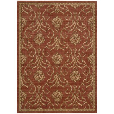 Radiant Impressions Persimmom Area Rug Rug Size: 56 x 75
