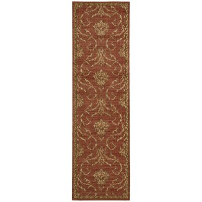 Radiant Impressions Persimmom Area Rug Rug Size: Runner 23 x 8