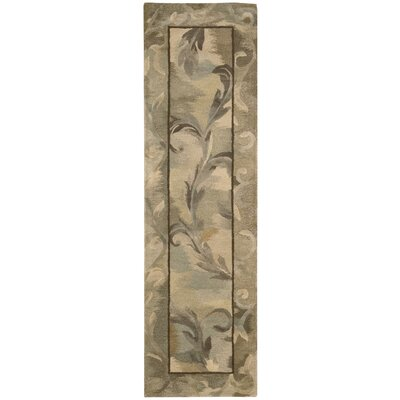 Reflections Taupe Rug Rug Size: Runner 23 x 8