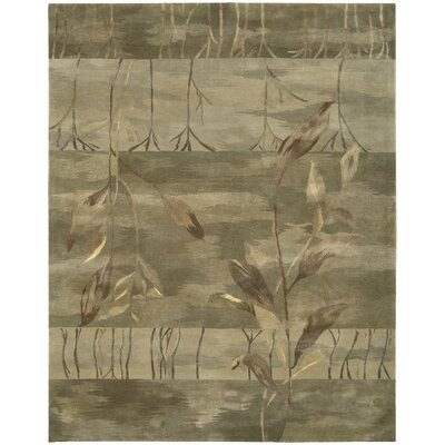 Reflections Taupe Rug Rug Size: 86 x 116