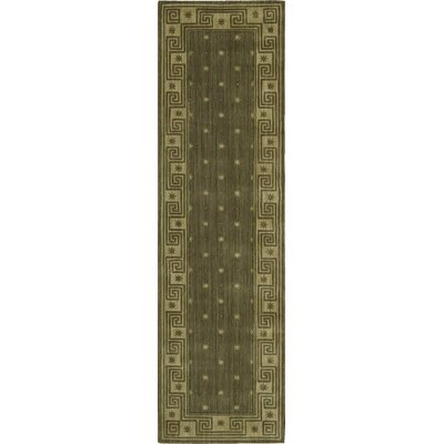 Dunnstown Hand-Woven Spruce Area Rug Rug Size: Runner 23 x 8