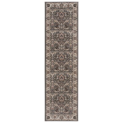 Leighanne Light Brown/Beige Area Rug Rug Size: Runner 22 x 76