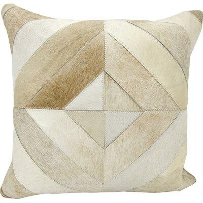 Joseph Abboud Throw Pillow Color: Beige